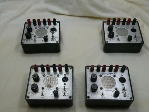 Motorola RTX4005B, Portable Radio Test Set Box, Lot of 4