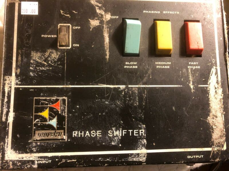 Maestro Phase shifter one of the first of the early 70