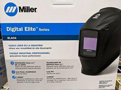 Miller 281000 Digital Elite Welding Helmet With Clearlight Lens Black New