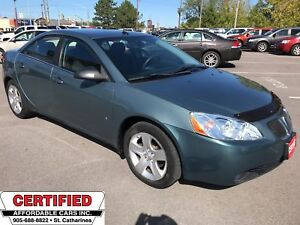 2009 Pontiac G6 SE ** CRUISE, AUX. IN **