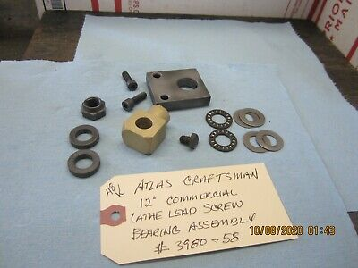 Atlas Craftsman 12 Commercial Lathe Lead Screw Bearing Assembly