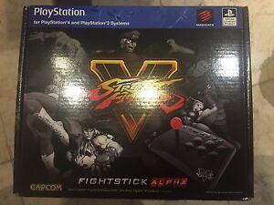 Mad Catz Street Fighter V Arcade FightStick Alpha Fighting Stick Playstation 3 4