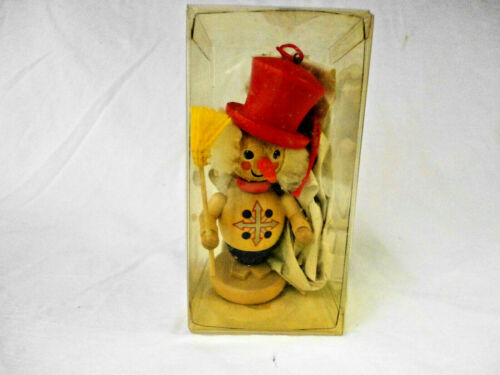 Holzkunst Christian Ulbricht  Jack Frost  Wood Christmas Ornament
