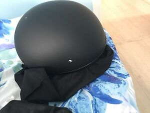 Two skull cap riding helmets (M)