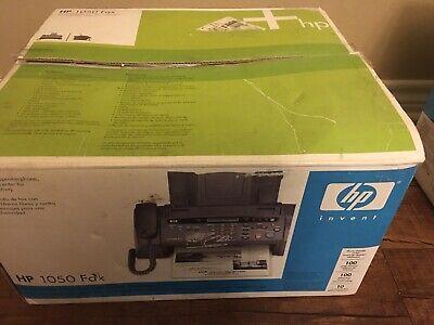 Hp 1050 Fax Thermal Ink Jet Plain Paper Fax Machine