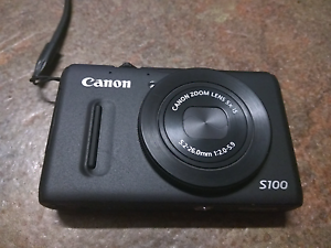 Canon S100 compact digital camera Bossley Park Fairfield Area Preview