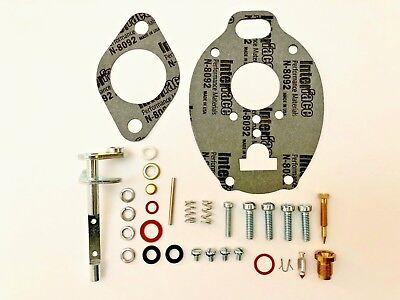 John Deere 420 430 Carburetor Repair Kit With Throttle Shaft