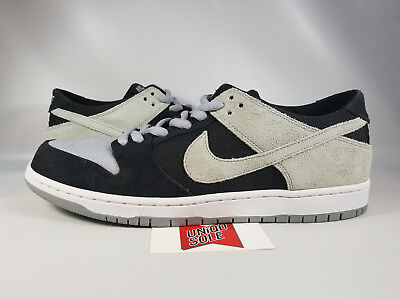 Nike Dunk Skate (Nike SB Zoom Dunk Low BLACK SHADOW WOLF GREY SUEDE 854866-001 sz 12 SKATE )