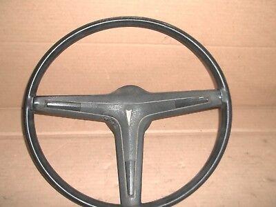 68 to 72 Pontiac Steering Wheel  & Horn Button Original GM