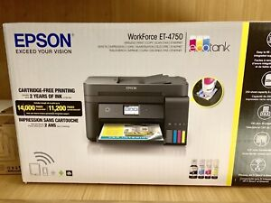 Epson WorkForce ET-4750 EcoTank All-in-One Printer, BNIB