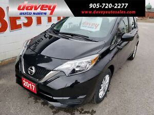 2017 Nissan Versa Note 1.6 SV BACK UP CAMERA, HEATED SEATS, B...