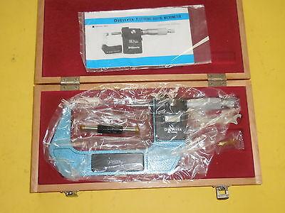 New Fowler 54-901-204 Digitrix 3-4 Electronic Digital Micrometer .0001 Japan