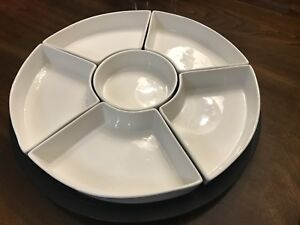MOVING SALE:  Serving tray on lazy Susan
