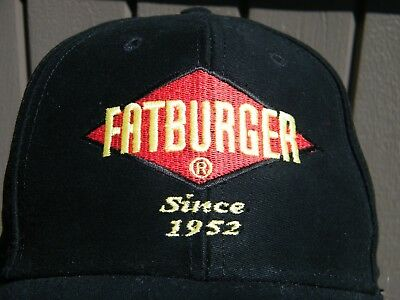 Fatburger Semi  Fitted Sm Med Baseball Cap Hat Exc Cd