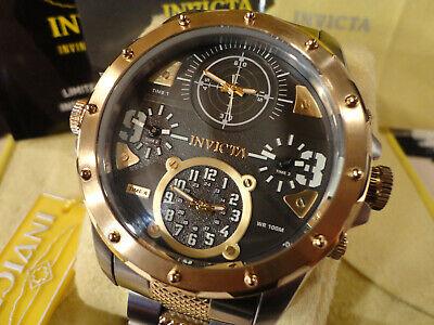 Invicta 31148 50mm Coalition Forces Special Ops. Quad Time Quartz Bracelet Watch