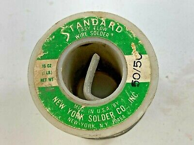 Standard Easy Flow Solid Wire Solder 5050 15.2 Oz.total Weight