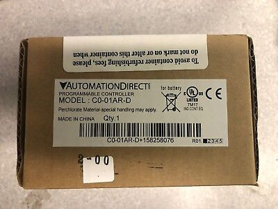 Automation Direct C0-01ar-d Programmable Controller