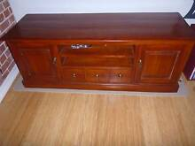 Timber entertainment unit Exeter Port Adelaide Area Preview