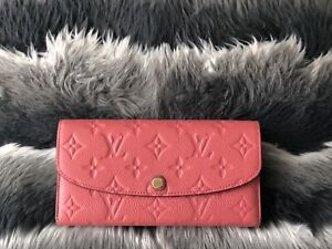 Louis Vuitton Emilie Empreinte Wallet