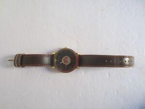 Julius Homme JAH081 Quartz Watch Leather Band Analog Wristwatch
