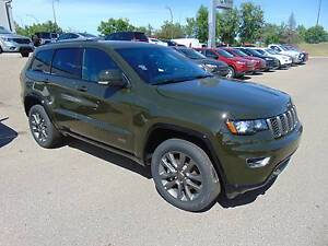 2017 Jeep Grand Cherokee Limited 75th Anniversary Edition 4x4