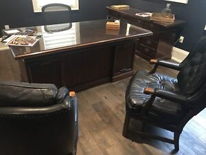 Office furniture set - antique