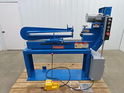 Niagara P-13 Power Metal Circle Shear Circle Cutter 16ga 12hp 208-230460 3ph