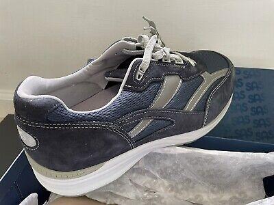 Men's SAS Journey Mesh Shoes Sz 14W Walking/Casual Comfort Sneakers Blue/Gray