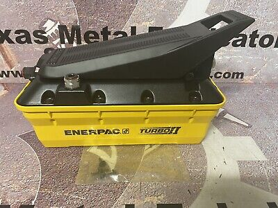 Enerpac Patg1102n Hydraulic Pump Air Turbo Ii
