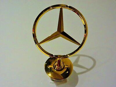 original Mercedes Stern Gold Vergoldet W202 W203 W210 W220 W211 W212 W204 W221 gebraucht kaufen  Markranstädt