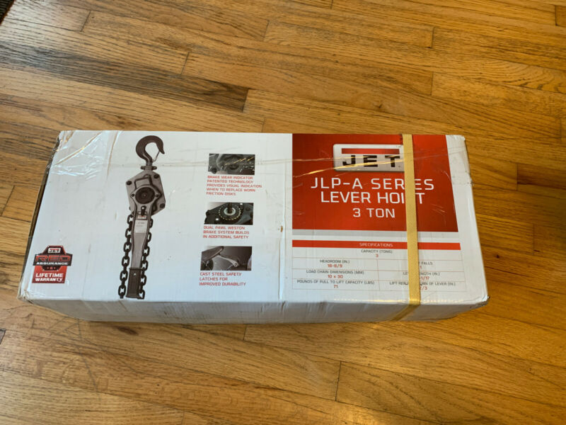 JET Lever Hoist 287502 JLP-A Series 3 Ton, 15