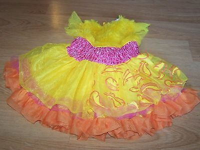 Size 12-18 Months Sesame Street Frilly Big Bird Halloween Costume Dress EUC (Sesame Street Big Bird Halloween Costume)