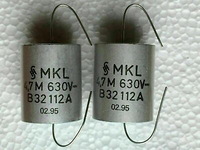 1/% 63V 0.027 µF 100x Siemens KP Polypropylen High-End Audio Kondensator