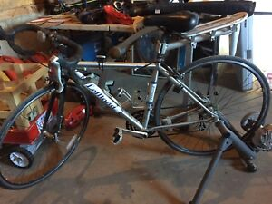 LeMond Road Bike with CycleOps Trainer