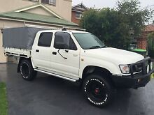 2003 Toyota Hilux Ute 4x4 Dual Cab 3.0 Litre Diesel Turbo Five Dock Canada Bay Area Preview