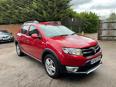63 DACIA SANDERO STEPWAY 1.5DCi AMBIANCE 1 OWNER FULL SERVICE HISTORY 13 STAMPS