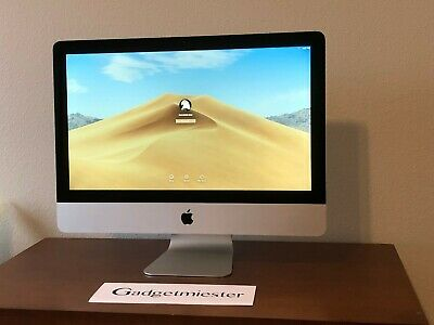 "Apple iMac 21.5"" 2013 3.1GHz Quad Core i7 16GB Ram 1TB SSD 1GB GFX"