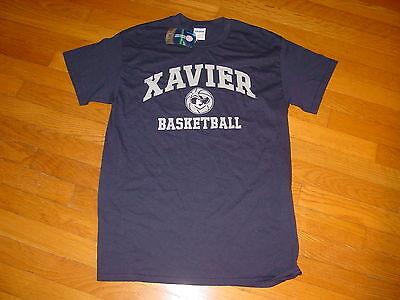 NCAA XAVIER University MUSKETEERS    BASKETBALL  T-Shirt NEW  sz....   LARGE Xavier University Basketball