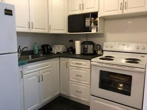 One bedroom for temporary lease in downtown