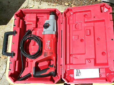 Milwaukee 5262-21 8-amp Corded 1 Sds Plus D-handle Rotary Hammer Wcase