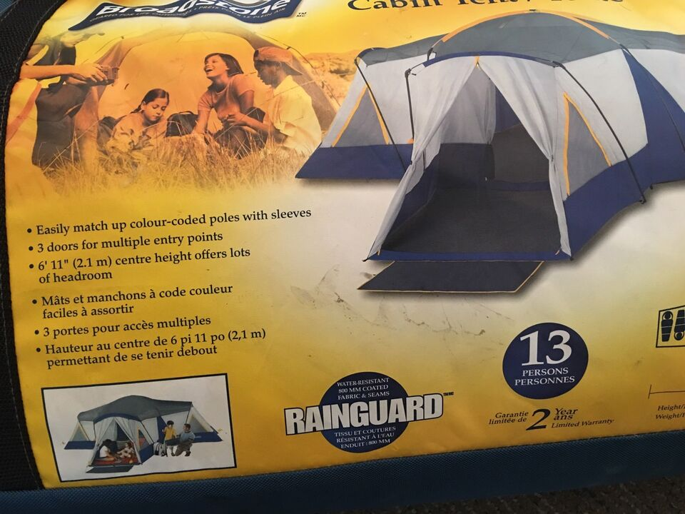 Listing item & 13 Person Beaumont Cabin Tent | Travel Trailers u0026 Campers ...