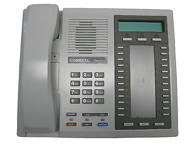 Comdial 8024s-pt Grey Display Set Refurbished 1 Year Warranty