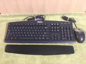 Dell Keyboard, Mouse & Wrist Pad