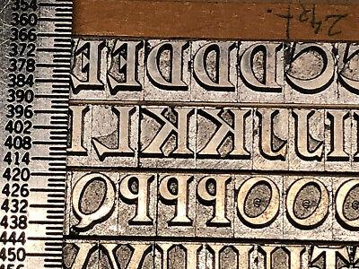Salem 24 Pt. - Letterpress - Metal Type - Printers Type