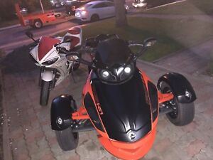 Can-am spyder RS-S 2012