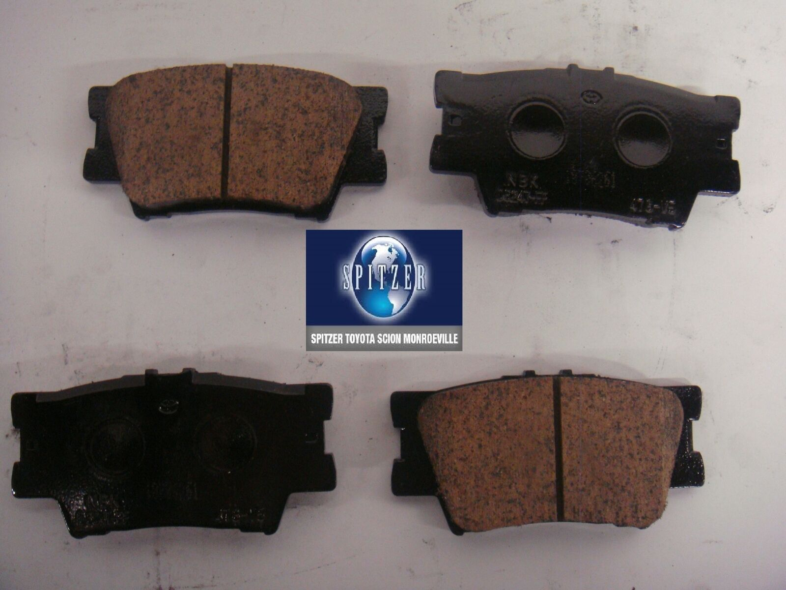 TOYOTA OEM 12-17 Camry Brake-Rear Pads 0446606200