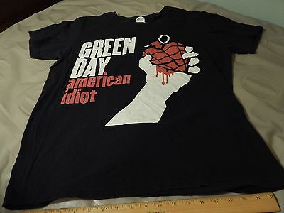 GREEN DAY [LOT of 2] American Idiot - Size: Large T-SHIRT + Music Videos DVD