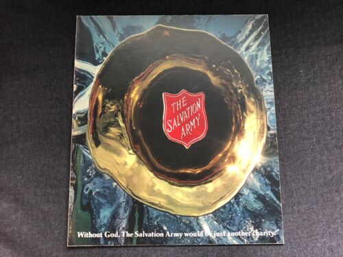 Vintage ADVERTISING PROOF Salvation Army Trumpet God Charity J Walter Thompson