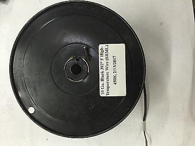 10 Ga. Black 392 F High-temperature Wire Srml - Price Per Feet