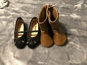 Baby girl size 4 shoes and boots!